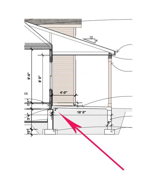 Help Attach Cement Porch To Foundation Concrete