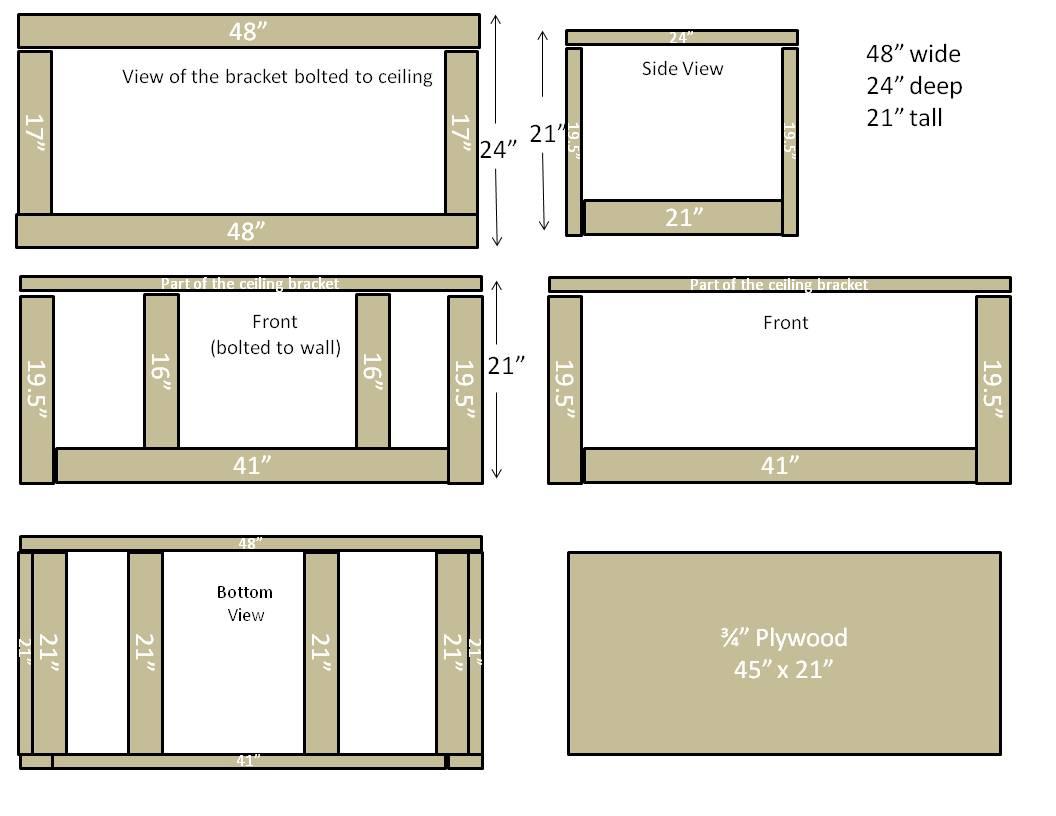 Building Garage Overhead Storage Diy Home Improvement Forum