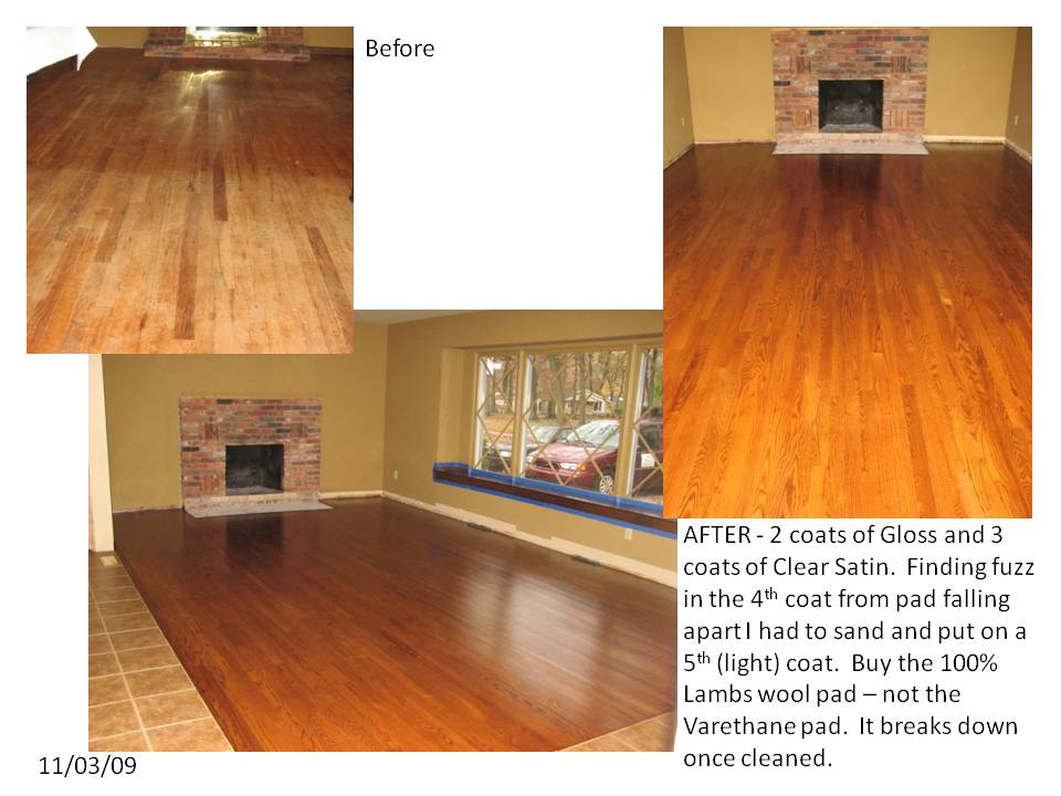 My Hardwood Floor Refinishing Project
