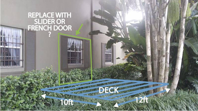 Enlarge Window Opening To Install Door Concrete Block