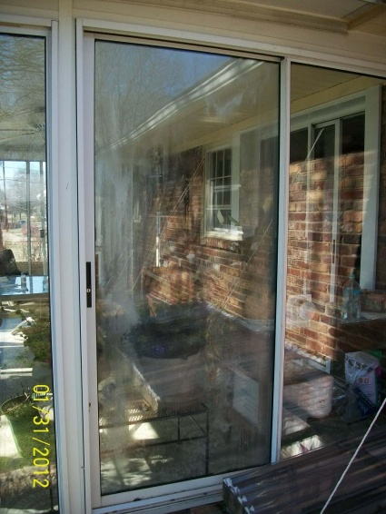 Sliding Glass Door Replacement   Identity Needed Sliding Door Outside  ...