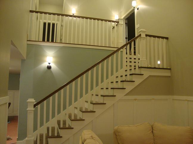 Exceptionnel Stairway Railing Help Smallerstairs