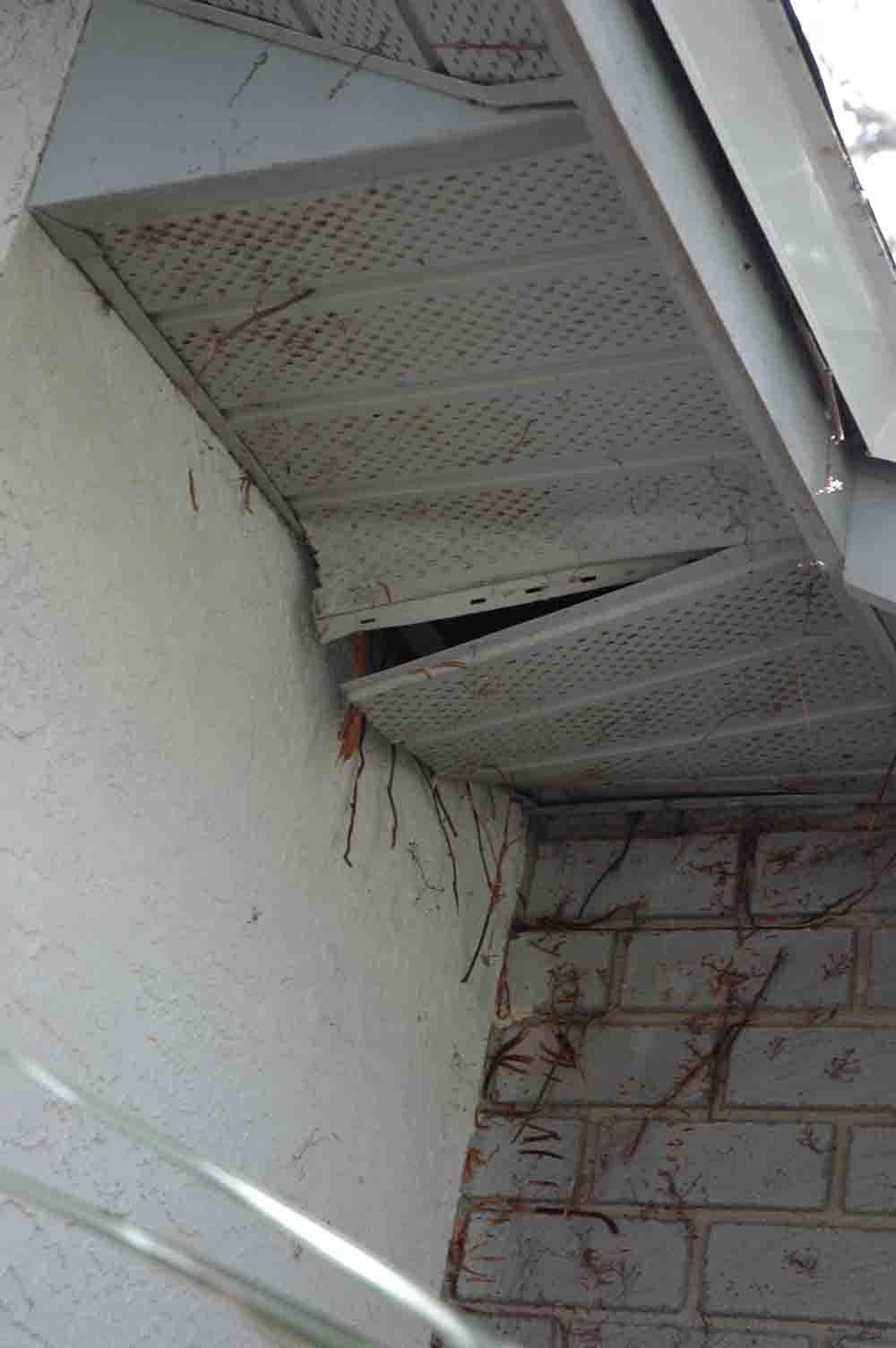 How To Repair Patio Screen Door Rollers: How To Repair Sagging/loose Soffits?