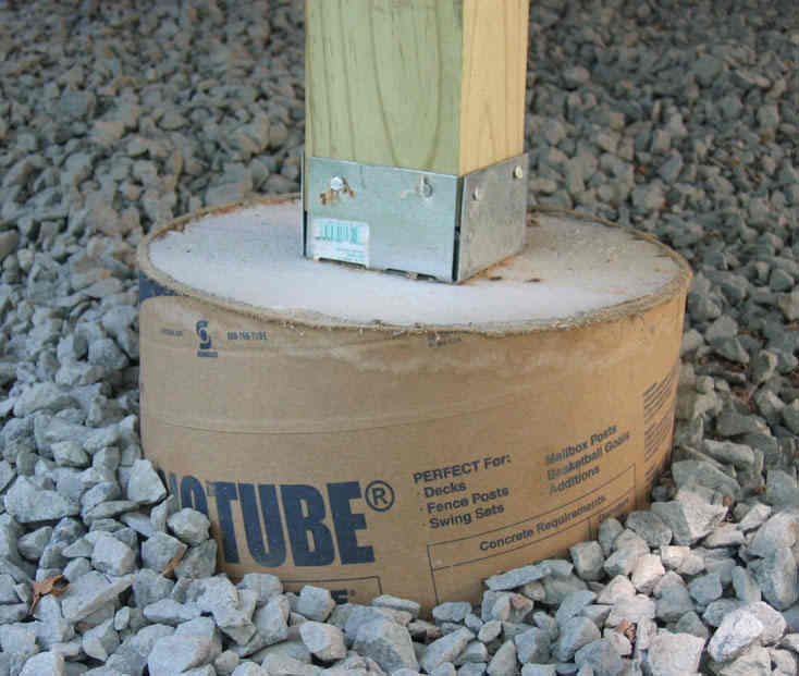 Building on piers & pressure treated posts, or just concrete piers?-sonotube.jpg