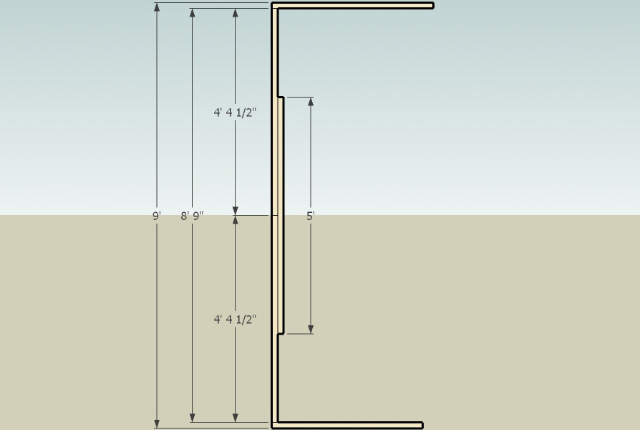 Method for joining 2 X 4's together?-spliced-stud-non-load-bearing-wall.jpg