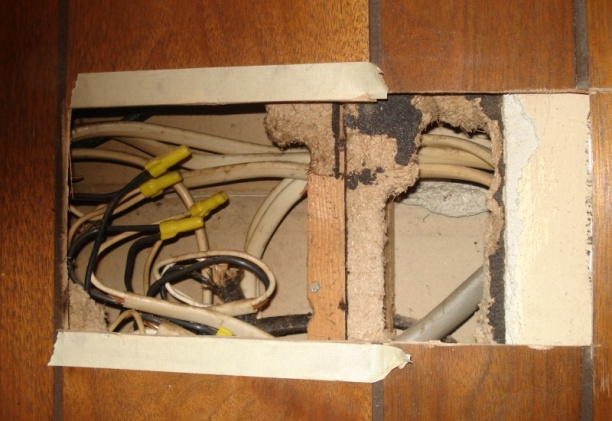 Numerous splices buried in wall - best way to fix?-splices1.jpg