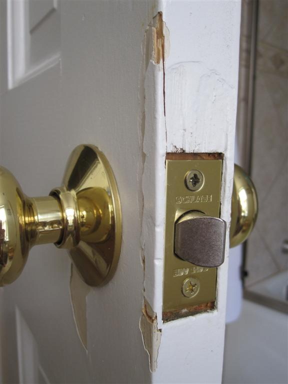 Noob Question   How To Fix Splintered Wood On Interior Door Spring 2011  ...