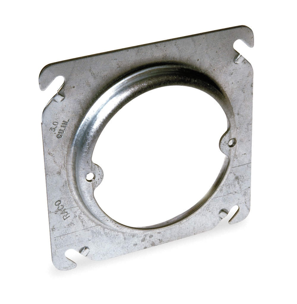 Ropriate Ceiling Cover Plate For Junction Box Square Round Adapter Ring