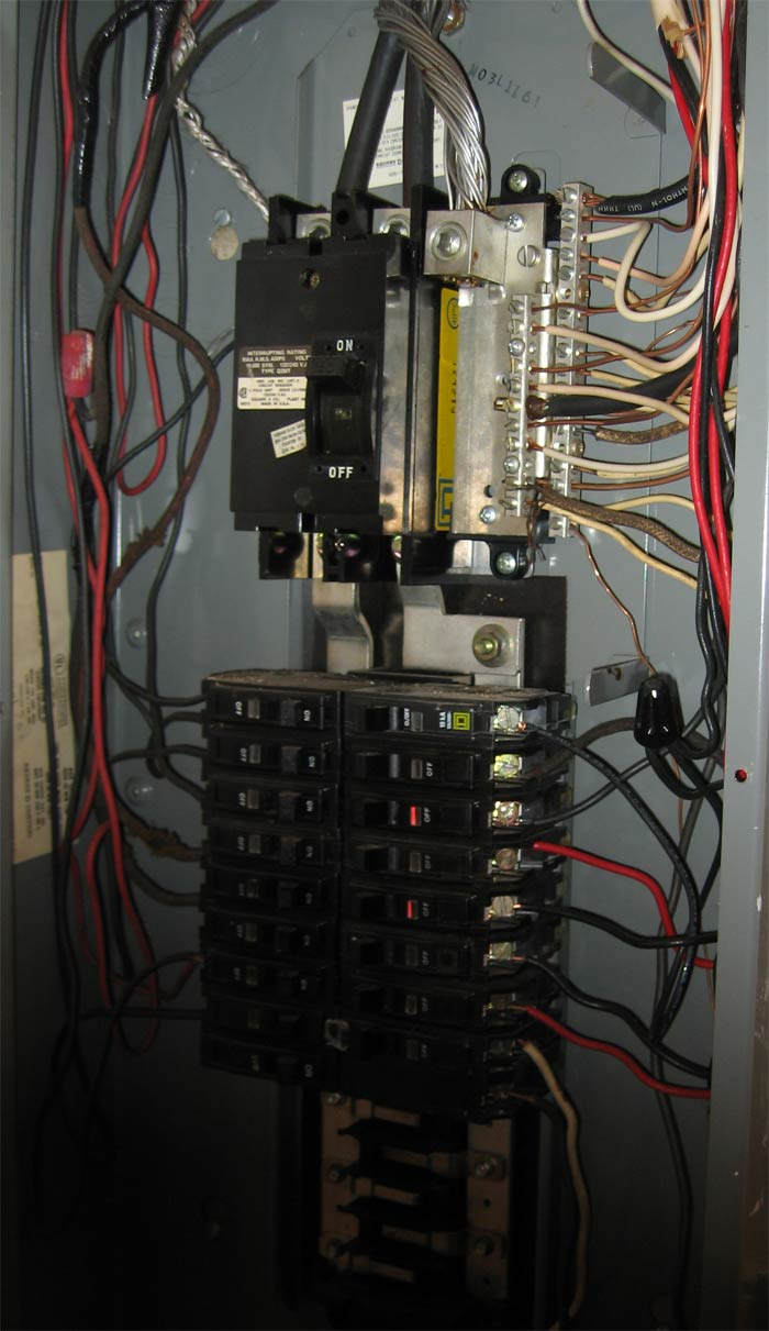 Advice On Installing Equipment Grounding Bar In Main Panel Rh Diyroom Com Electrical Load Center Wiring Diagrams Qo