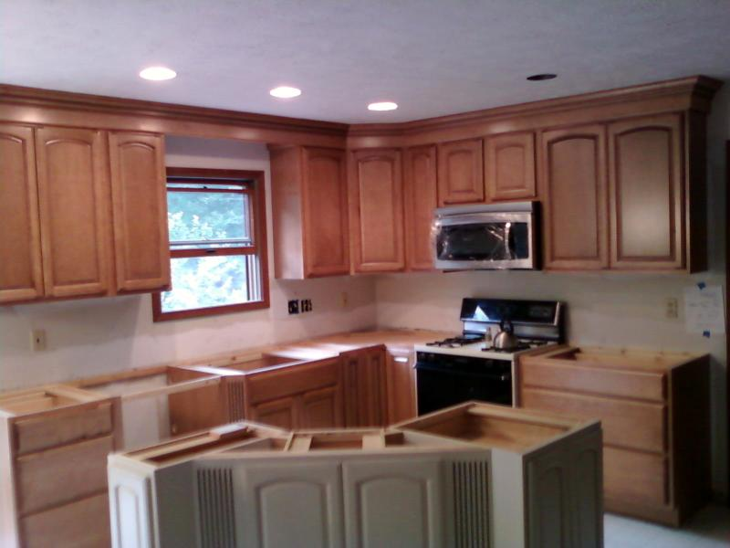 Nailers For Crown Molding Over Kitchen Cabinets ...