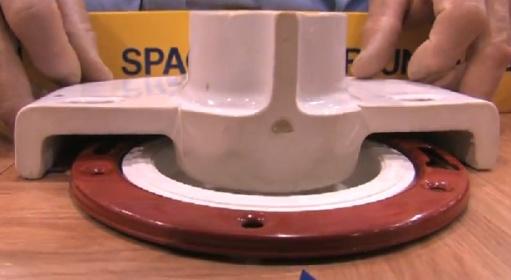 Toilet Flange Gap Repair Plumbing Diy Home Improvement