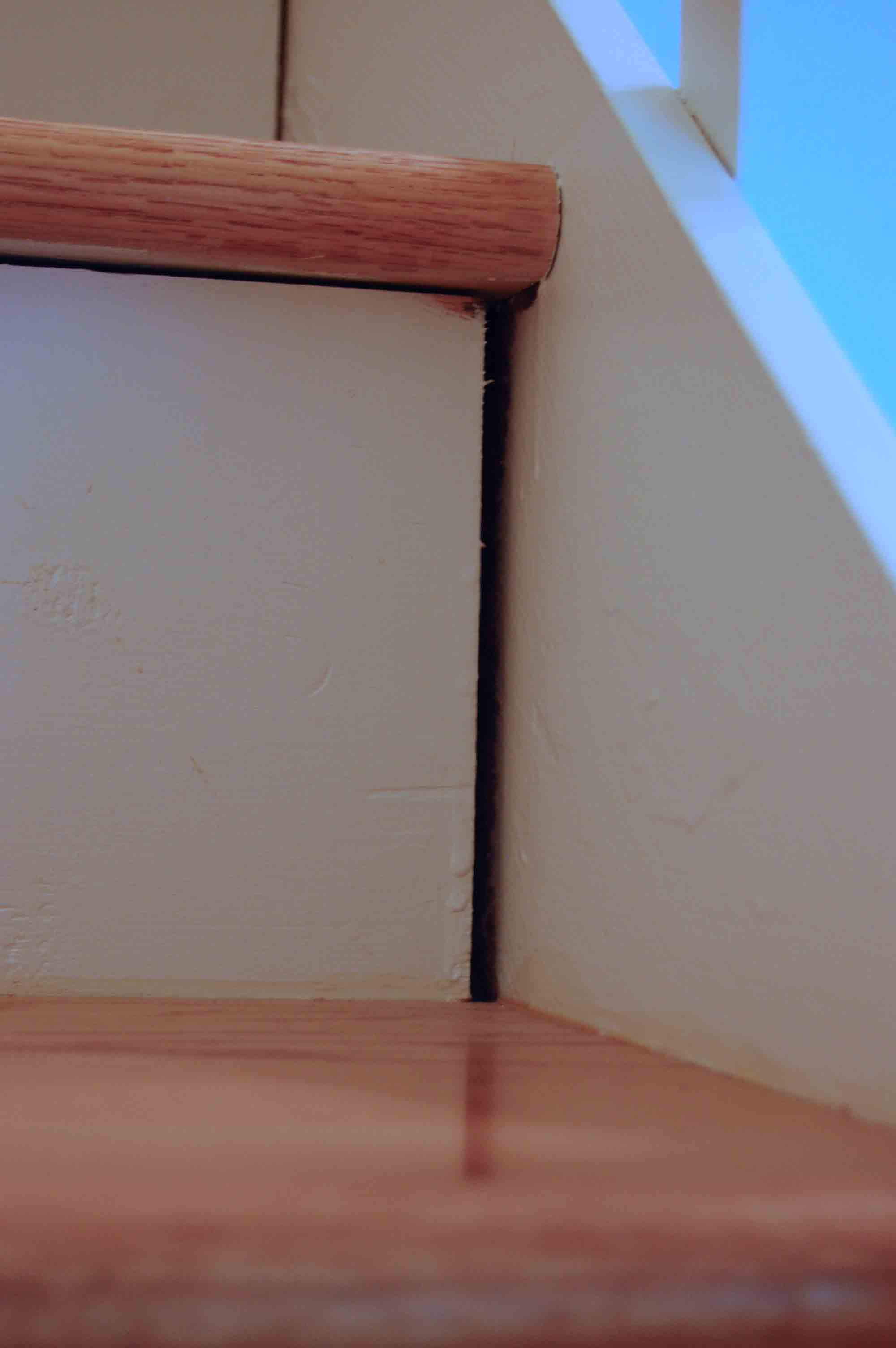 Fix Gaps In Stairs Stair Gap1 Diy ...
