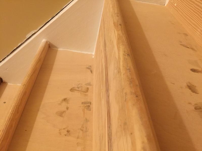 How To Trim Stair Treads Round Nose Flooring Diy