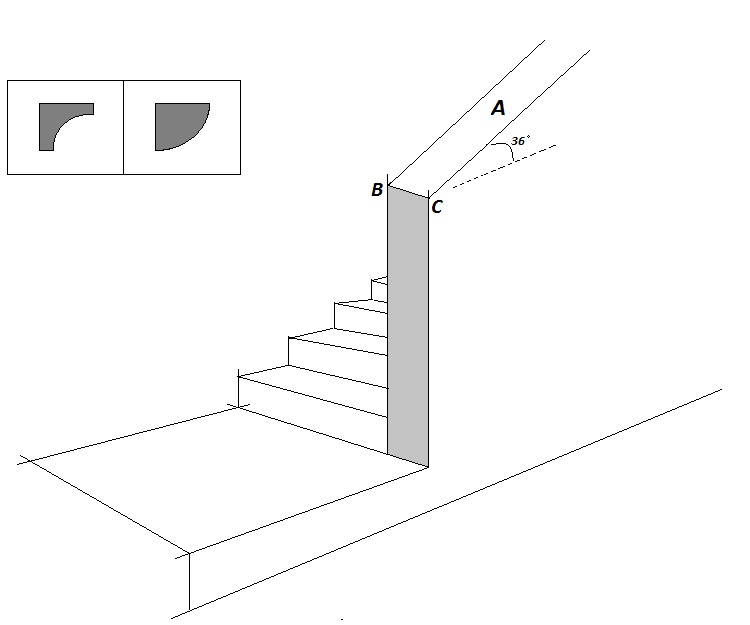 Trim joins at base of sloping wall-stair-rail.jpg