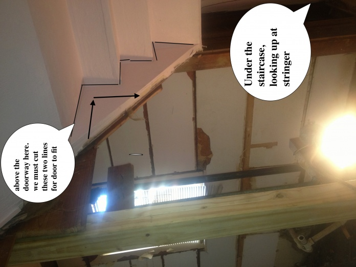 I NEED to cut a piece of staircase stringer out!-stairproblem.jpg
