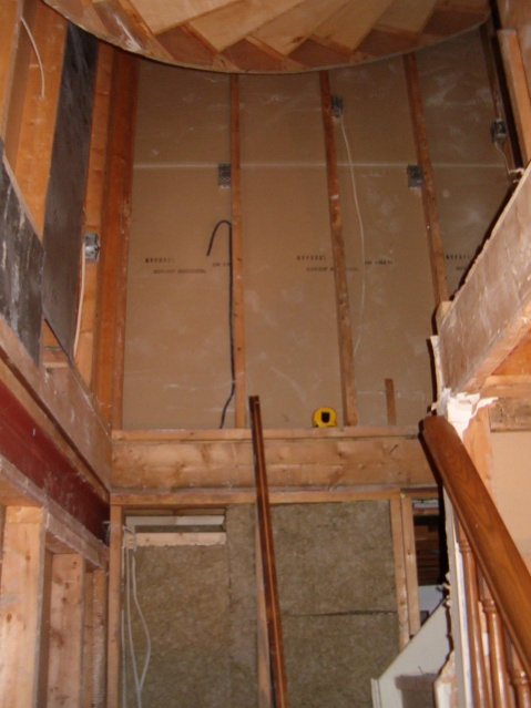 Framing For Drywall Under Spiral Staircase Drywall