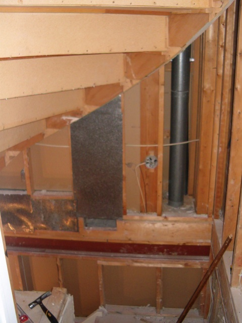 framing for drywall under spiral staircase stairs topjpg - Drywall Framing