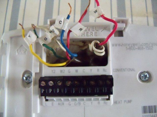 thermostat assistance please hvac diy chatroom home improvement rh diychatroom com Honeywell TH5220D1029 Wiring-Diagram Honeywell TH5220D Thermostat Wiring Problems