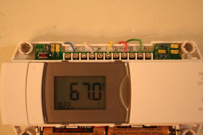 how to program honeywell thermostat manual
