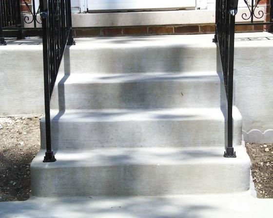 Oak hand rail on existing iron stair railing-steps-5-1.jpg