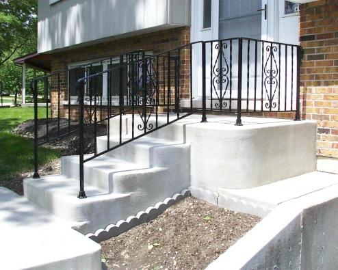 Oak hand rail on existing iron stair railing-steps-6-1.jpg