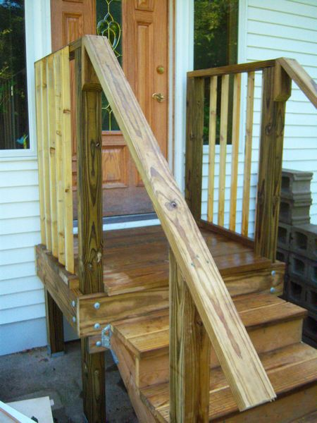 New porch/landing with balusters & rails.-steps2g.jpg