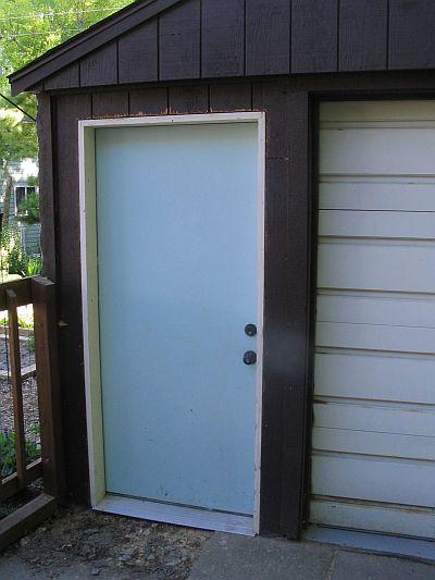 Garage swing-door install: sill bolt problem-stillwrerkin-doorin.jpg