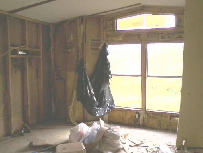 Complete Mobile Home Remodel-stove-wall.jpg