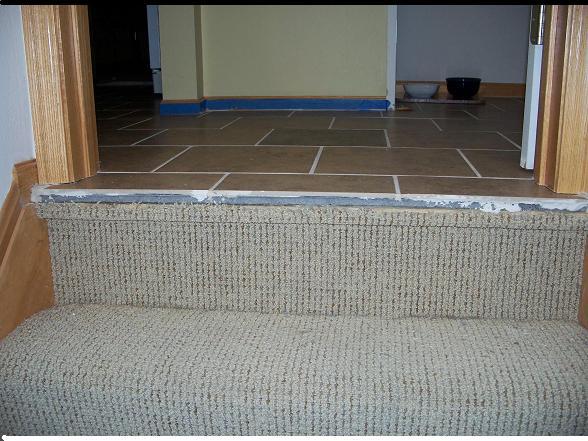 What Stair Nosing After Ceramic Install Flooring Diy