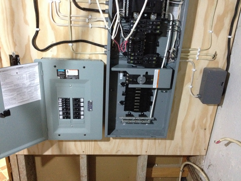 Installing Subpanel For Workshop - Electrical - DIY Chatroom ... on wiring a 125 amp sub panel to a 200 amp panel, wiring from meter to breaker box, wiring sub panel be, wiring sub panel grounding, wiring a main panel,
