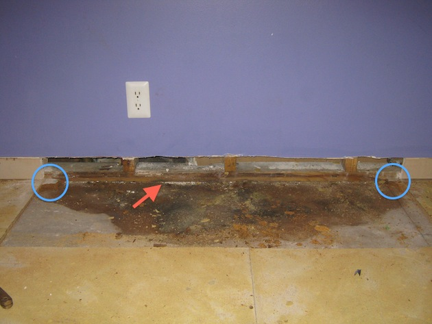 How Do I Remove Part Of The Damaged Subfloor Flooring Diy