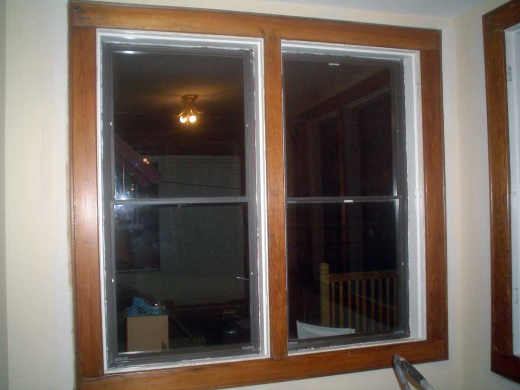 Wooden window trim that I stripped looks bad.  Suggestions?-sunroom_trim_2.jpg