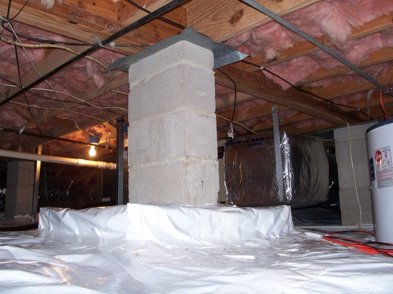 Bad smell in crawl space.-sw-corner-pier.jpg