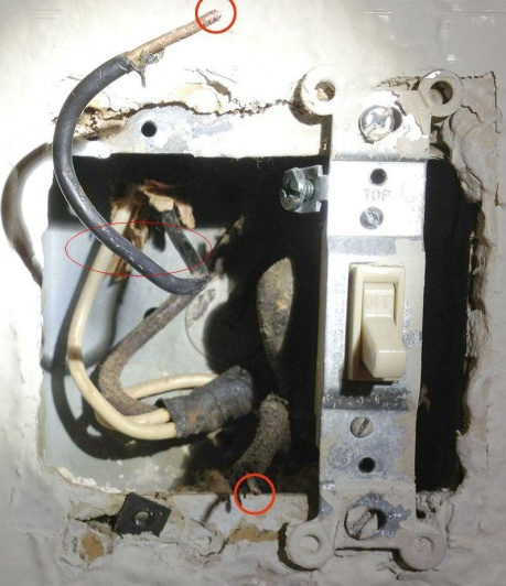I have 2 black wires, no ground, and a multimeter. Which is the line/hot?-swdiy.jpg
