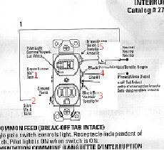 wiring diagram for switch outlet combo the wiring diagram combination switch receptacle nilza wiring diagram