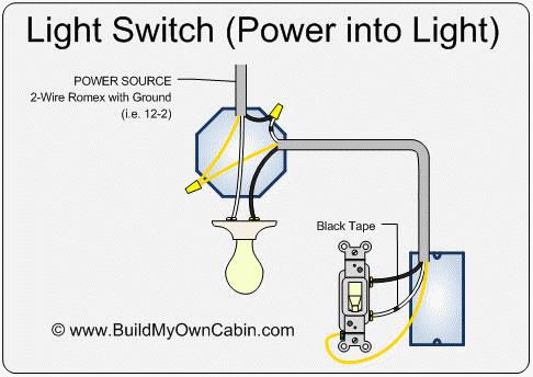 Switched Neutral - 50v At Light Socket - Electrical - DIY Chatroom ...