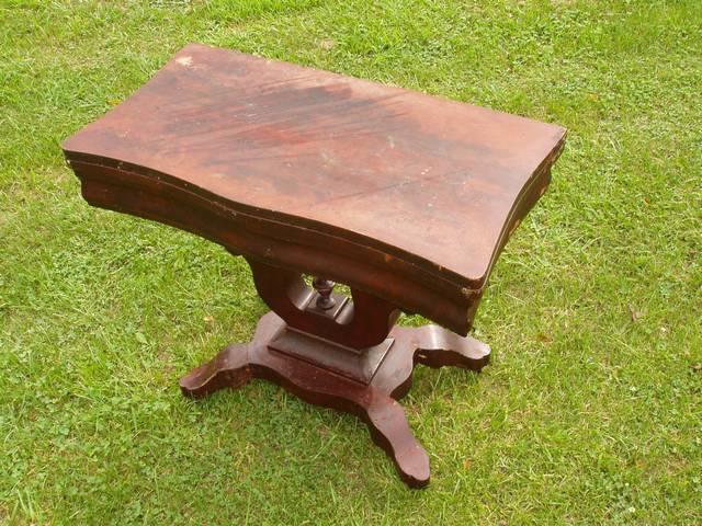 Unusual Antique Folding Table Refinish-table1bf.jpg