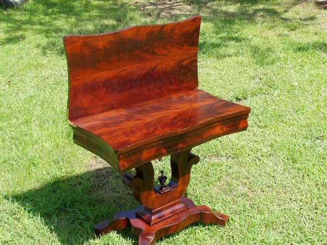 Unusual Antique Folding Table Refinish-table2af.jpg