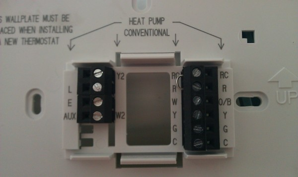 Replacing Carrier Thermostat With Honeywell - Hvac