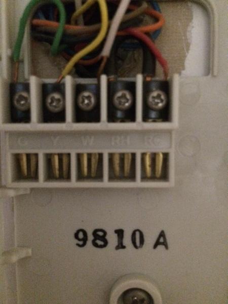Wiring My Honeywell Thermostat HVAC DIY Chatroom Home – Rth6300b Wiring Diagram