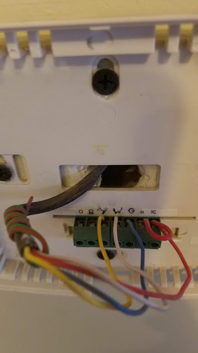 Is My Thermostat Wiring Wrong  - Hvac
