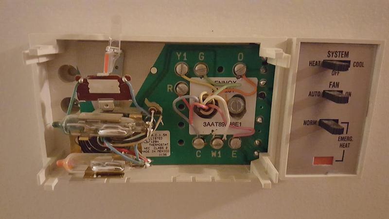 Heat Pump Thermostat Replacement Diy, Lennox Thermostat Wiring Diagram Heat Pump