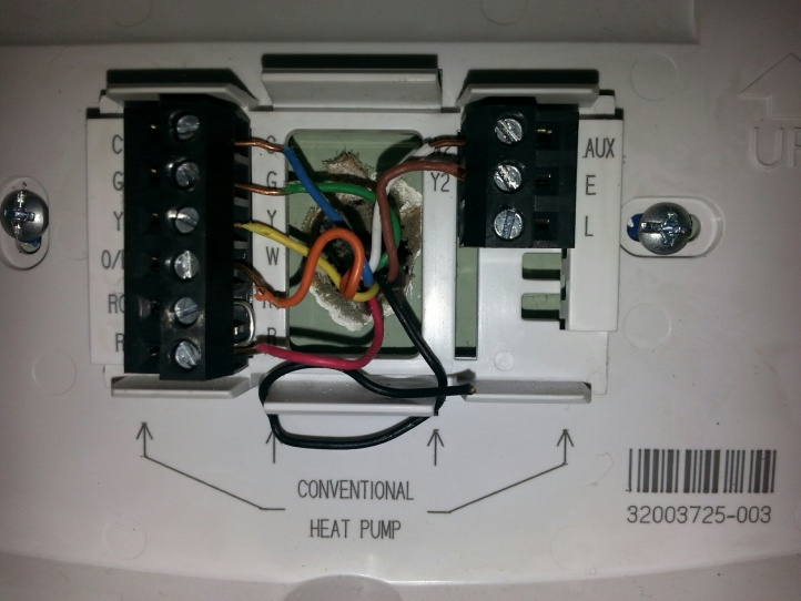 Heatpump Wiring Questions - Hvac