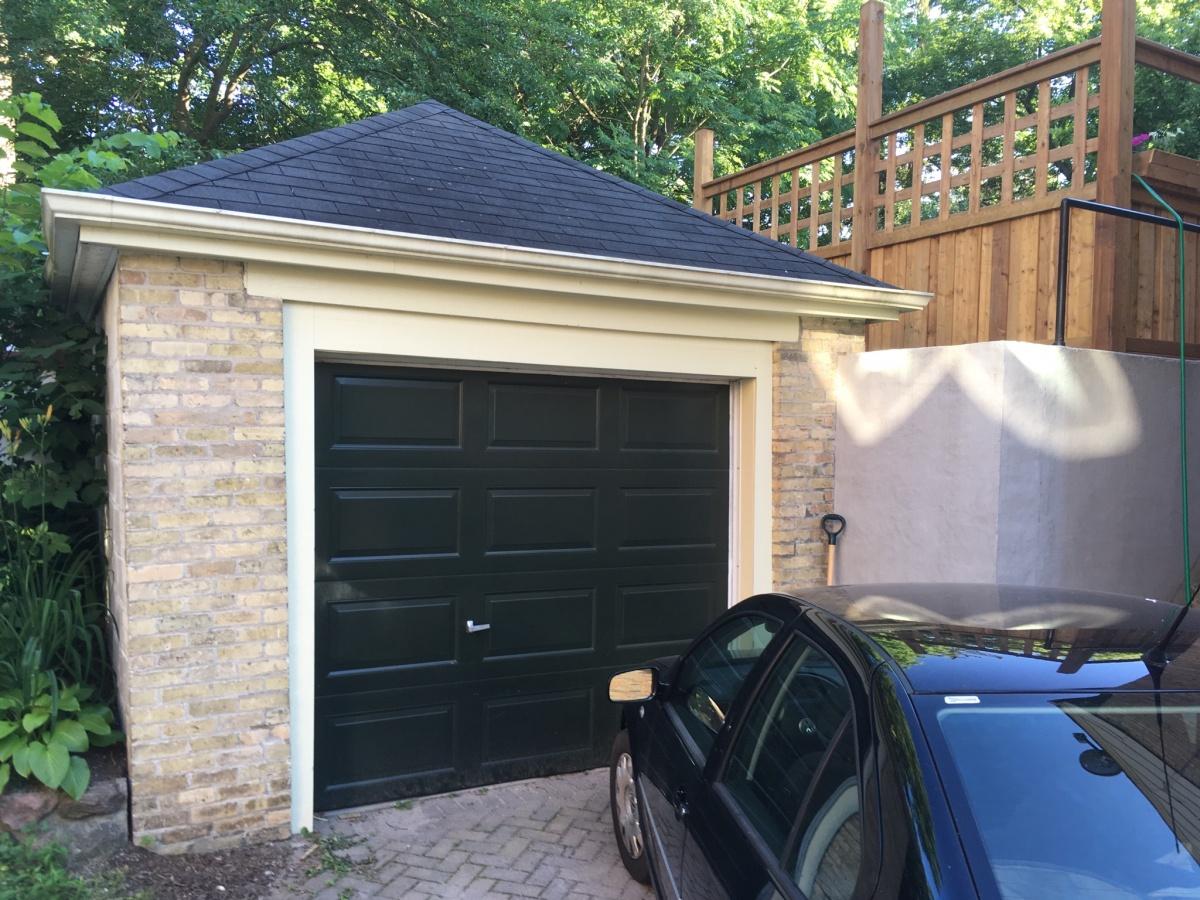 Garage Built Into Hillside Buried On
