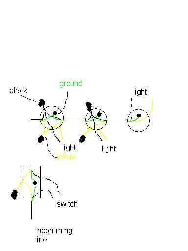 Shop Light To Switch To Extension Cord - Electrical