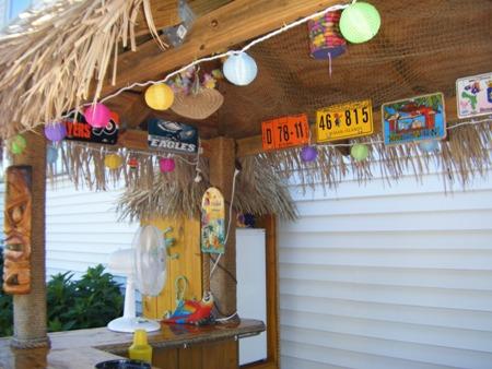 Basic Tiki Hut Roof ?u0027s Tiki Bar 7