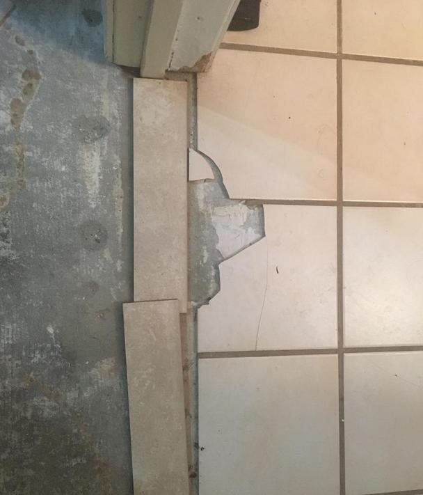 Floor Tile Paint Yes You Can Paint Floor Tiles Here S: Help With Bathroom Tile Floor Repair ...
