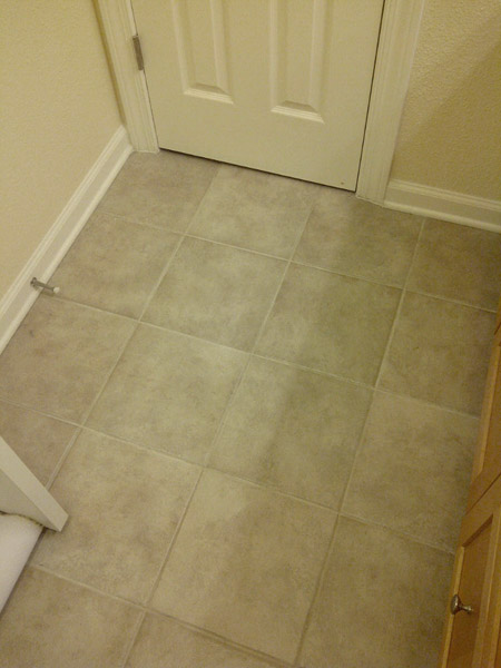 Old Bathroom Tile Floor What To Do