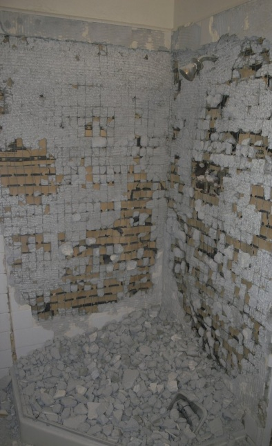 Removing Corner Shower Tile (with Pictures) - Kitchen & Bath ...