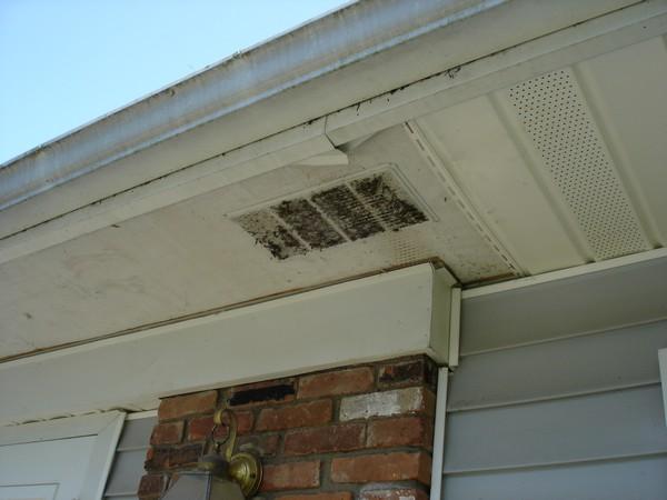 Vent Roof Without Soffit Soffit Vent Hack Job